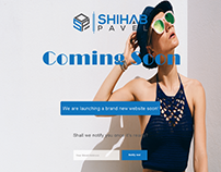 Coming Soon UI/ UX