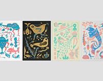 蟲魚花鳥系列 Flower, bird, insect & fish