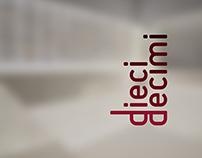Dieci Decimi • Rebranding