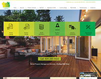 Website Design Layout - Home Page