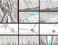 Egyxos - Storyboards