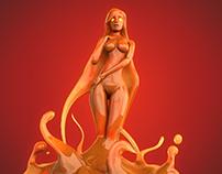 The Birth of Slimy Venus