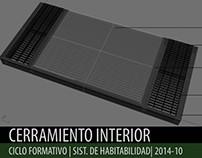 2014.10_Sistemas de Habitabilidad_Cerramiento Interior