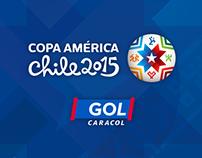golcaracol.com / Copa América Chile 2015