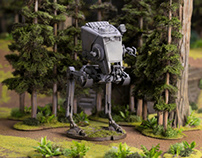 Star Wars: Legion Miniatures Photography