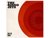 The Ringo Jets - Evil Eye (Album artworks)