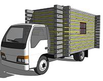 Log Cube Truck