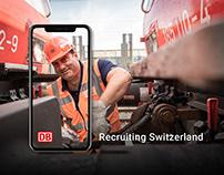 DB Cargo Schweiz // Recruiting Campaign