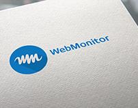 criação de marca e site: Webmonitor