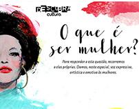 International Woman's Day • Livraria Cultura
