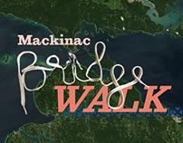Mackinac Bridge Walk Poster