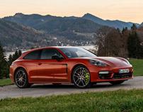 Porsche Panamera & Taycan Shooting Brake Turismo