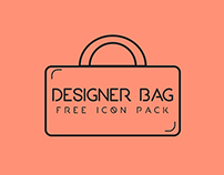 Designer Bag- free icon pack