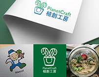 Corporate Identity Branding Designfor PlanetCraft