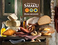 """""""TRZY ZNAKI SMAKU"""" dla ARR i SOPEXA - dania"""