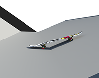 3D Skate Board