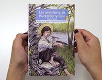 'Les aventures de Huckleberry Finn'/ Libro ilustrado