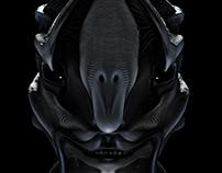 Alien head exploration