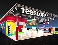 Tessloff Booth Visualization for BBCO MesseManufaktur