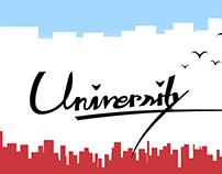 University cover