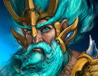 Poseidon portrait