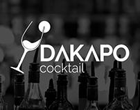 DAKAPO Cocktail  Imagotipo