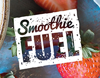 Smoothie Fuel - Identity Design + Collateral