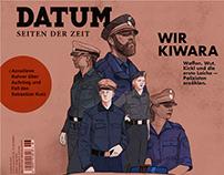 "Illustrations for ""Datum"" article ""Wir Kiwara"""