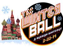 2014 Winter Ball Logo Design