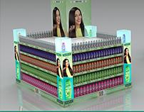 Palmolive Shampoo Pallet Display