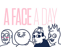 A FACE A DAY / Daily doodle