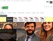 Web Club Esportiu INEF Barcelona - 2016