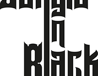 Logo for Cover Band Jungle In Black