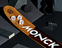 Monck Custom Skis