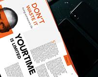Steve Jobs Concept Brochure
