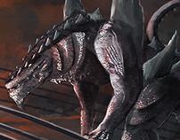 Godzilla - Art Collab
