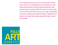 Fully Artomatic Branding