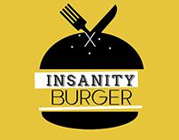 2015 - Branding Identity: Insanity Burger