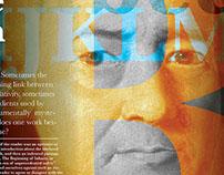 Michael Bierut Article Design Spread