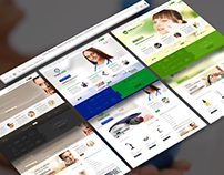 Fokus Medical Webshops Design & Development