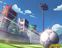 Backgrounds of Soccer Legends