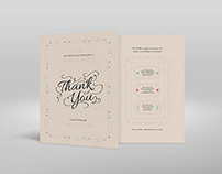 Thank You Card Project