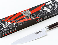Ōkami Knives Product & Packaging Design