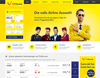 Relaunch Webdesign for TUIfly.com