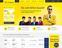 Relaunch Webdesign for TUIfly.com