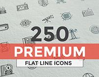 Set of modern Line Design icons
