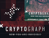 Cryptograh –  Poster Design for an Hypothetical TV Show
