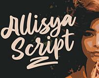 Allisya Brush Script
