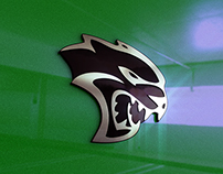 Challenger Hellcat Emblem (Created using Element 3D)