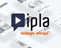 Ipla - redesign concept   iOS App